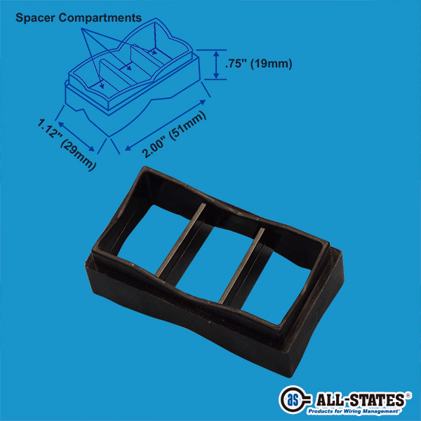 Cable Spacer, Nylon - CS-11