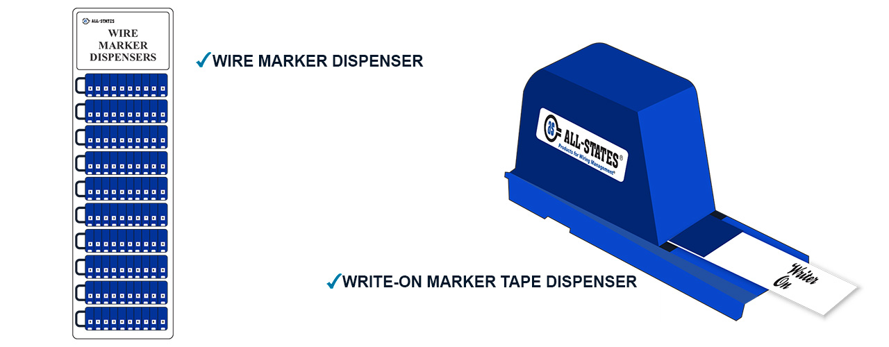 Wire Marker Booklets and Dispensers